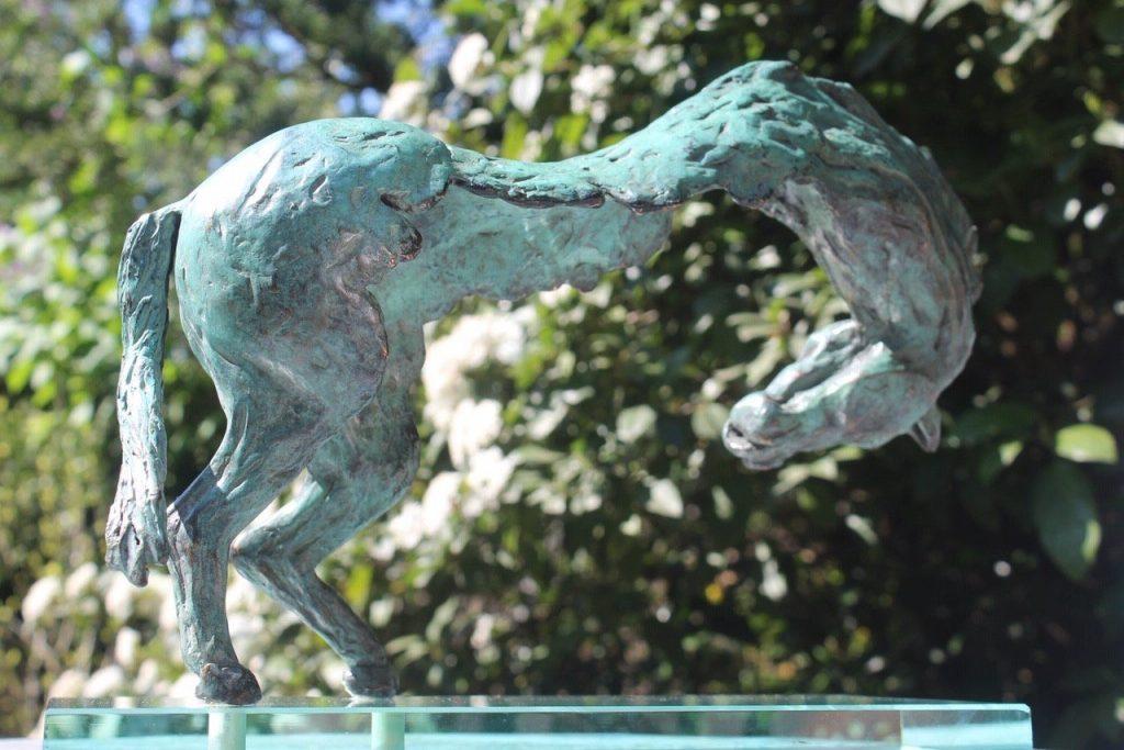 Exclusieve paarden van brons