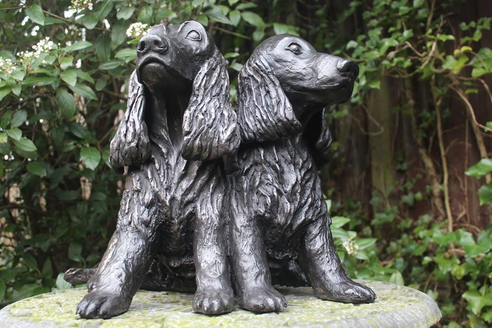 Bronzen beeld van uw huisdier