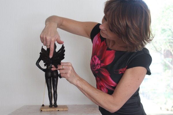 Een bronzen beeld, wat een bijzonder huwelijkscadeau