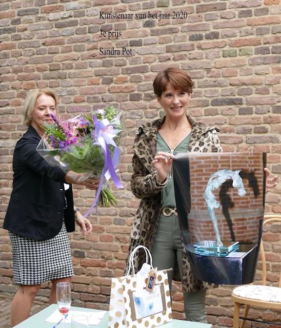 Sandra Pot wint 3de prijs Kunstenaar van het jaar 2020