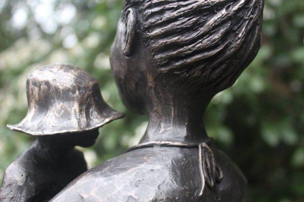 Een bronzen beeld, wat een mooi geschenk