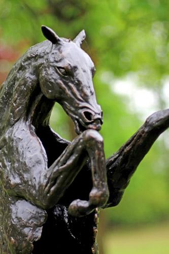 Paardenbeelden op Outdoor Gelderland