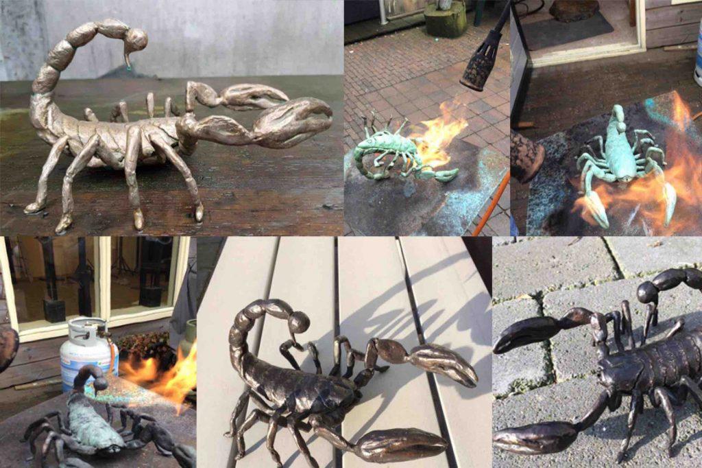 Figuratief bronzen beeld