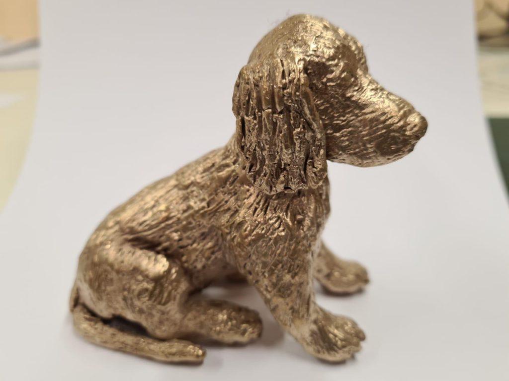 hond van brons